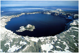 [Crater Lake, Oregon] [reprinted with permission of Zainub Ravzi: CC Attribution Share-Alike 3.0 license]